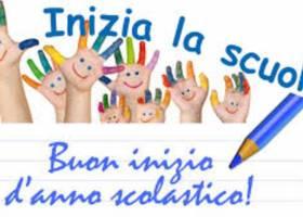 Auguri di buon anno scolastico!